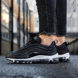 Nike Shoes - Nike Air Max 97 Premium Black Sneakers